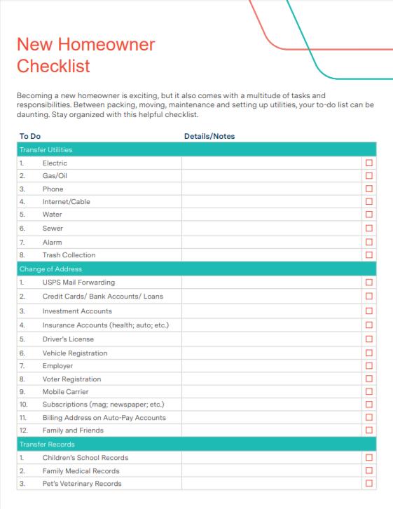 Checklist Library - Achieve The Dream